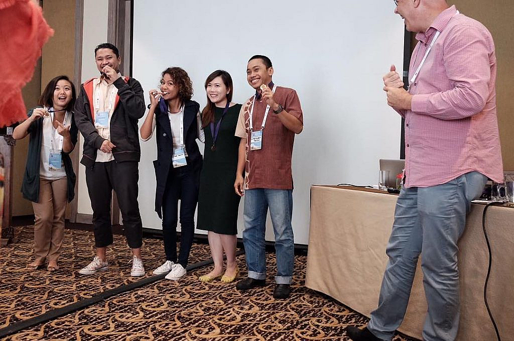 Top of the class, engage bali 2016