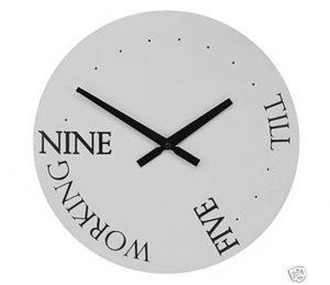 Nine to five workdays